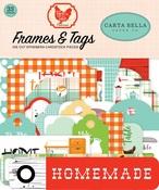 Farm To Table Frames & Tags - Carta Bella
