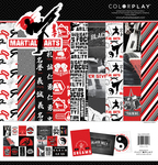12x12 Paper Pack - Martial Arts - Photoplay - PRE ORDER