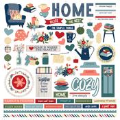 Element Sticker - Heart & Home - Photoplay