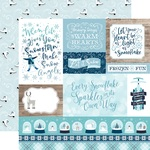 Multi Journaling Cards Paper - Winter Magic - Echo Park - PRE ORDER