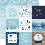 4X4 Journaling Cards Paper - Winter Magic - Echo Park - PRE ORDER