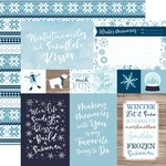 4X6 Journaling Cards Paper - Winter Magic - Echo Park