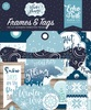 Winter Magic Frames & Tags - Echo Park Ephemera Cardstock Die-Cuts. Perfect for all your paper crafting needs! Acid and lignin free.