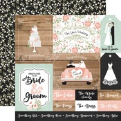 Multi Journaling Cards Paper - Our Wedding - Echo Park