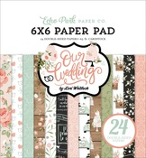 Our Wedding 6x6 Paper Pad - Echo Park