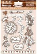 Alice Cling Rubber Stamp 5.5 x 7 - Stamperia - PRE ORDER