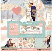 Love Story 12 x 12 Paper Pad - Stamperia