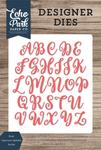 Rosie Uppercase Alphabet Die Set - Designer Dies - Echo Park