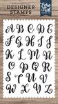 Rosie Uppercase Alphabet Stamp Set - Designer Stamps - Echo Park
