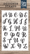 Rosie Uppercase Alphabet Stamp Set - Designer Stamps - Echo Park