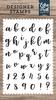 Rosie Lowercase Alphabet Stamp Set - Designer Stamps - Echo Park