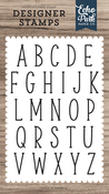 Mckell Uppercase Alphabet Stamp Set - Designer Stamps - Echo Park