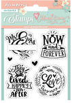 Love Story Now & Forever Cling Stamp - Stamperia