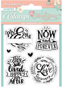 Love Story Now & Forever Cling Stamp - Stamperia - PRE ORDER