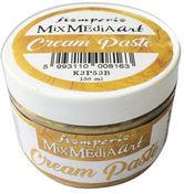 Gold Metallic Cream Paste 150ml - Stamperia - PRE ORDER