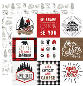 4X4 Journaling Cards Paper - Echo Park - PRE ORDER
