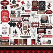 Let's Lumberjack Element Sticker - Echo Park - PRE ORDER
