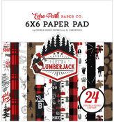 Let's Lumberjack 6x6 Paper Pad - Echo Park - PRE ORDER