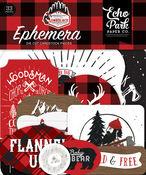 Icons - Let's Lumberjack Ephemera - Echo Park - PRE ORDER