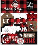 Frames & Tags - Let's Lumberjack Ephemera - Echo Park