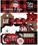 Frames & Tags - Let's Lumberjack Ephemera - Echo Park - PRE ORDER