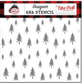 Forest Trees Stencil - Echo Park - PRE ORDER