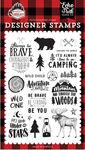 Let's Lumberjack Stamp Set - Echo Park