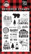 Let's Lumberjack Stamp Set - Echo Park - PRE ORDER