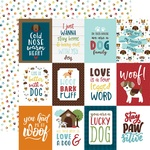 3X4 Journaling Cards Paper - My Dog - Echo Park - PRE ORDER