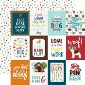 3X4 Journaling Cards Paper - My Dog - Echo Park