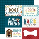 6X4 Journaling Cards Paper - My Dog - Echo Park - PRE ORDER