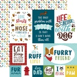 4X6 Journaling Cards Paper - My Dog - Echo Park - PRE ORDER