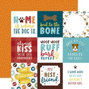 4X4 Journaling Cards Paper - My Dog - Echo Park