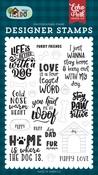 Furry Friends Stamp Set - Echo Park