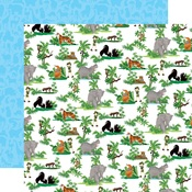 Jungle Animals Paper - Zoo Adventure - Carta Bella - PRE ORDER