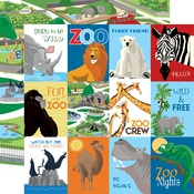 3X4 Journaling Cards Paper - Zoo Adventure - Carta Bella - PRE ORDER