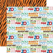 Stay Wild Paper - Zoo Adventure - Carta Bella - PRE ORDER