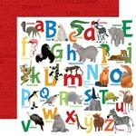 Animal Alphabet Paper - Zoo Adventure - Carta Bella - PRE ORDER