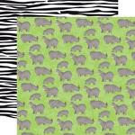Hippos Paper - Zoo Adventure - Carta Bella - PRE ORDER