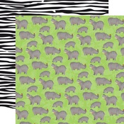 Hippos Paper - Zoo Adventure - Carta Bella - PRE ORDER