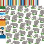 Elephants Paper - Zoo Adventure - Carta Bella - PRE ORDER