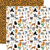 Born To Be Wild Paper - Zoo Adventure - Carta Bella - PRE ORDER