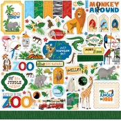 Zoo Adventure Element Sticker - Carta Bella
