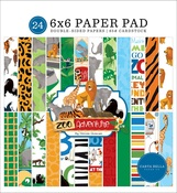 Zoo Adventure 6x6 Paper Pad - Carta Bella - PRE ORDER