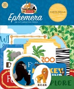 Zoo Adventure Ephemera - Carta Bella - PRE ORDER