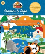 Zoo Adventure Frames & Tags - Carta Bella - PRE ORDER