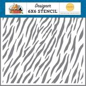 Zebra Stencil - Carta Bella