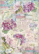 Hortensia Rice Paper A3 - Hortensia - Stamperia