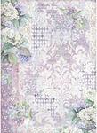 Hortensia Wallpaper Rice Paper A3 - Stamperia