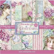 Hortensia 12 x 12 Paper Pad - Stamperia